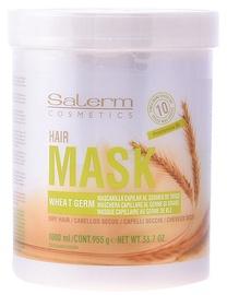 Kaukė plaukams Salerm Wheat Germ Conditioning Treatment, 1000 ml