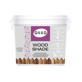 Impregnantas Okko Wood Shade, pilkas, 5 l