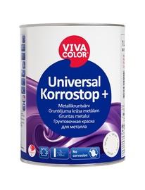 Gruntskrāsa Vivacolor Korrostop, 1l, pelēka