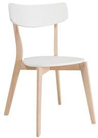 Ēdamistabas krēsls Signal Meble Tibi Dab White, 1 gab.