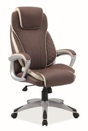 Signal Meble Q-391 Office Chair Brown/Cream