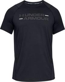 Under Armour MK-1 Wordmark Short Sleeve T-Shirt 1327248-001 Black M
