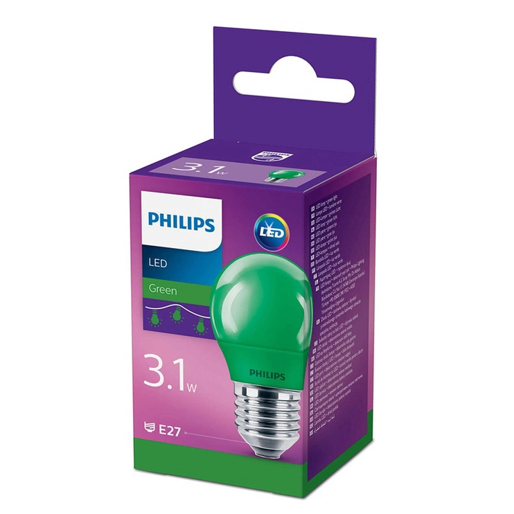 Valgusdioodlamp Philips P45 7W E27 LED