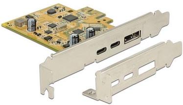 Delock PCIe 2 x external USB Type-C™ 3.1 female