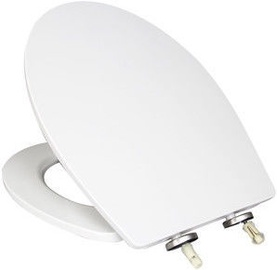Verners New York Soft Close Toilet Lid White