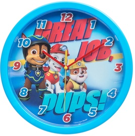 Verners Wall Clock PAW Patrol 25cm Blue