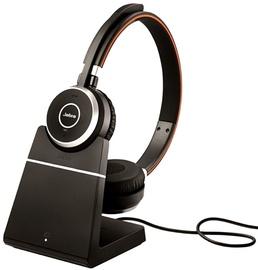 Ausinės Jabra Evolve 65 MS Stereo + Charging Stand