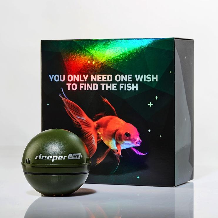 Sensorius žuvų paieškos Deeper Chirp+ Christmas Edition