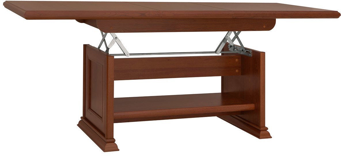 Coffee Table Desk.Black Red White Kent Coffee Table Elast130 170 Chestnut