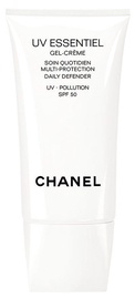Крем для загара Chanel UV Essentiel Gel Cream Multi-protection Daily Defender SPF50, 30 мл