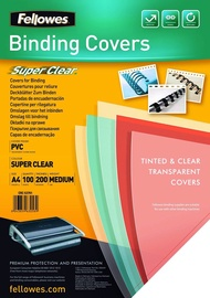 Fellowes A4 200 Clear Binding Cover