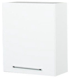 Верхний кухонный шкаф Bodzio Loara Right 60GSP White, 600x310x720 мм