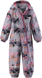 Lassie By Reima Oveall Bear 710743- 4181 Pink/Gray 92