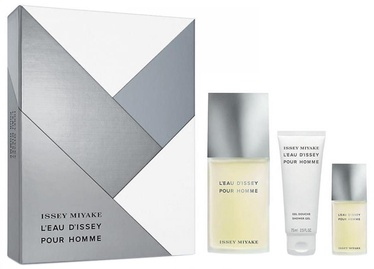 Issey Miyake L´Eau D´Issey 125ml EDT + 75ml Shower Gel + 15ml EDT