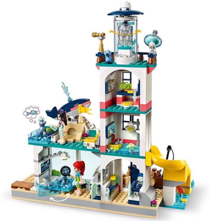 Konstruktorius LEGO® Friends 41380 Švyturio gelbėjimo centras