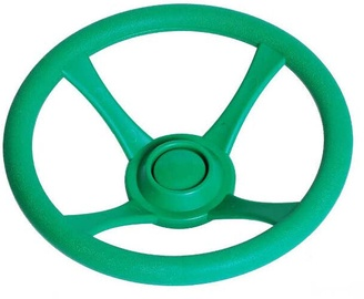 4IQ Game Steering Wheel For Childrens Playgrounds Green