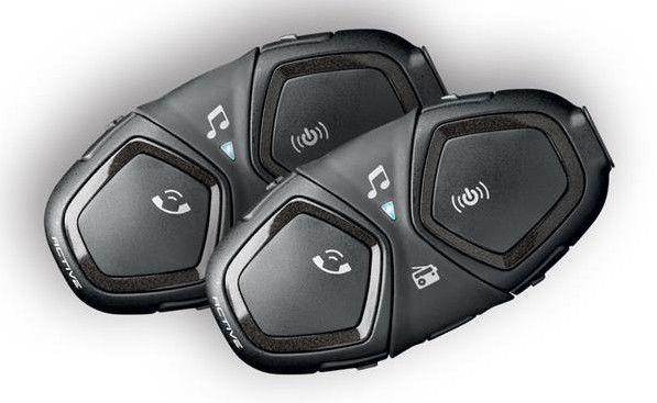 Interphone Active Motorcycle Intercom Twin Pack