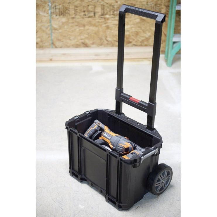 Keter Connect Cart w/ Organiser Black