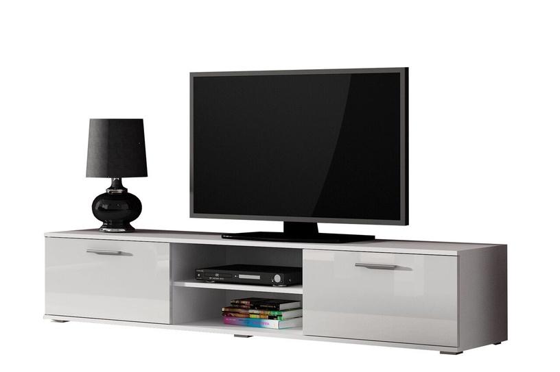 TV galds Cama Meble Soho 180, balta, 1800x430x370 mm