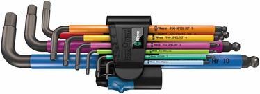 Wera Multicolor Metric Key Set 950 SPKL/9SM N HF