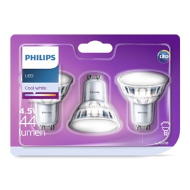 SPULDZE LED 4.5W GU10 CW 120D ND 440 LM (PHILIPS)