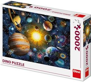 Dino Puzzle Solar System 2000pcs