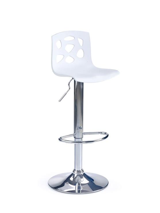 Baro kėdė Halmar H-48 White, 1 vnt.