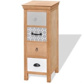 Шкаф VLX Solid Wood, коричневый, 35 см x 35 см x 90 см