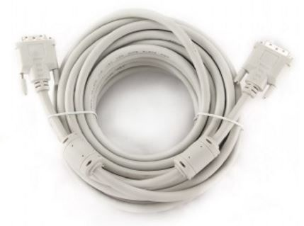Gembird Cable DVI to DVI White 10m