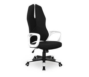 Biuro kėdė (vadovo) Cougar 2, balta/juoda