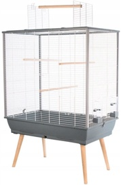 Zolux Neo Jili XL Bird Cage Grey
