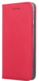 OEM Smart Magnet Book Case For Huawei P30 Lite Red
