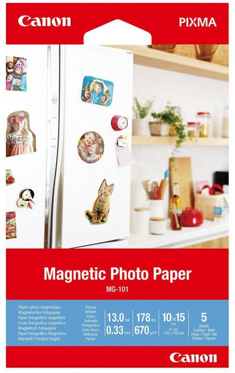Canon MG-101 Photo Paper 10x15 Glossy 5pcs
