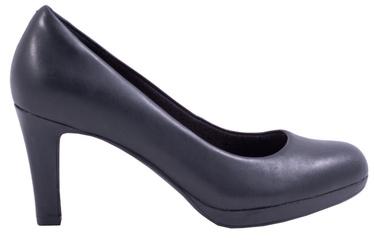 Clarks 261293595 Adriel Viola Leather Pumps Black 37