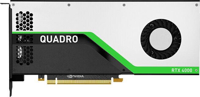 Vaizdo plokštė PNY Quadro RTX 4000 VCQRTX4000-UPG-PB 8 GB GDDR6