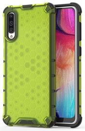 Hurtel Honeycomb Armor Back Case For Samsung Galaxy A50 Green