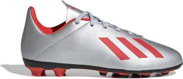Adidas X 19.4 Flexible Ground JR Silver 38 2/3
