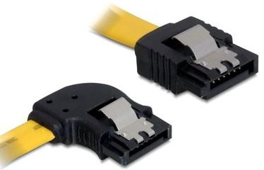 Delock Cable SATA / SATA Yellow 0.3m