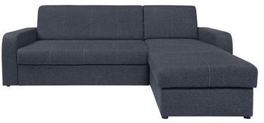 Black Red White Sofa Bed Kirsten III Dark Blue