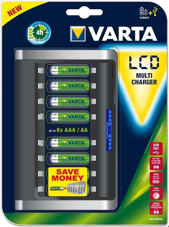 Varta LCD Multi Charger Batteries Not Included