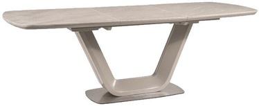 Pusdienu galds Signal Meble Armani, 1600x750x900 mm