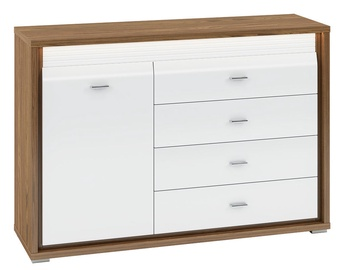 ML Meble Dallas 03 Chest Of Drawers Walnut/White