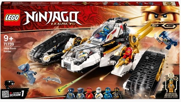 Конструктор LEGO Ninjago Сверхзвуковой самолёт 71739, 725 шт.