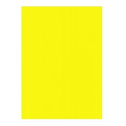 Kartonas Herlitz, geltonas, A4