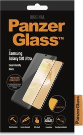 PanzerGlass Rounded Edges Glass For Samsung Galaxy S20 Ultra Black