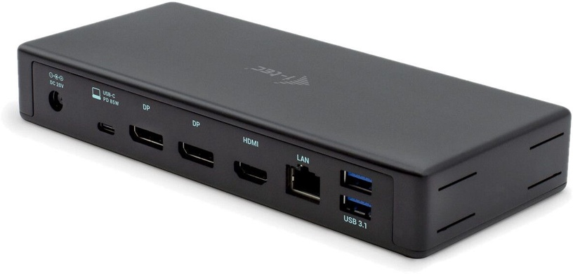 I-Tec USB-C Triple Display Docking Station + Power Delivery 85W