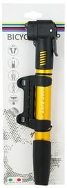 Good Bike Mini Dual Aluminium Pump Yellow