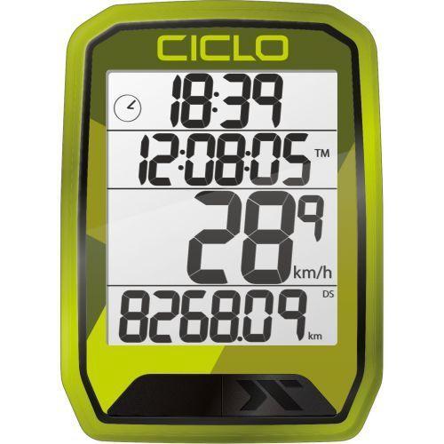 CicloSport Protos 213 Wireless Bike Computer Green
