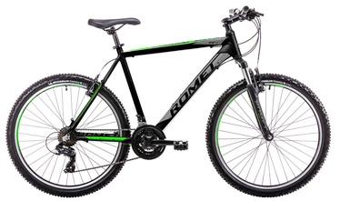 """Dviratis Romet Rambler R6.1 21"""" 26"""" Black Green 19"""