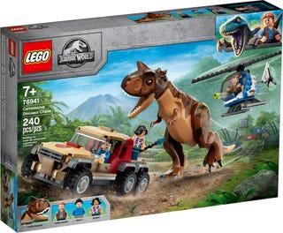 Konstruktor LEGO Jurassic World Carnotaurus'e tagaajamine 76941, 240 tk